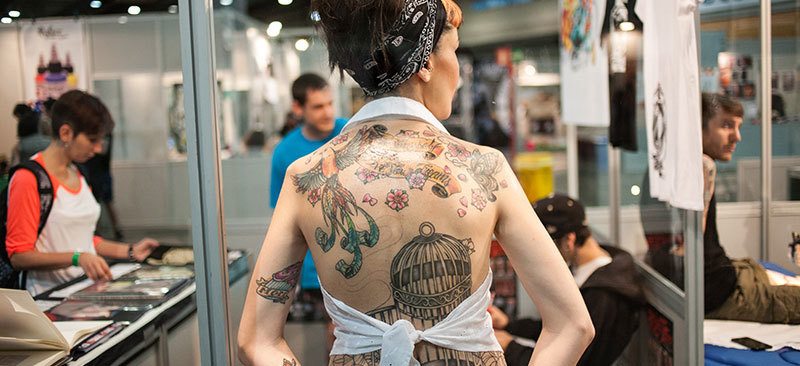 Tatuajes en el Mulafest