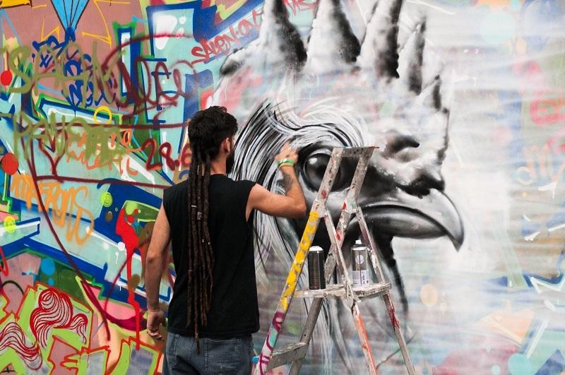 Graffiti en Mulafest