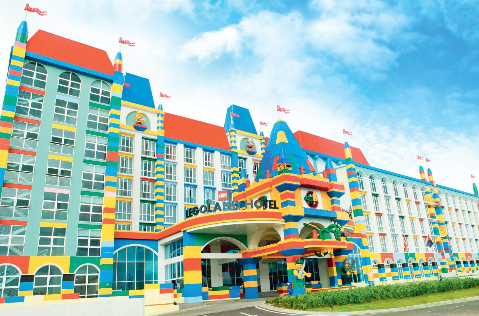 Legoland Hotel Johor Tiket Bahru Malaysia Theme Park Dan Water