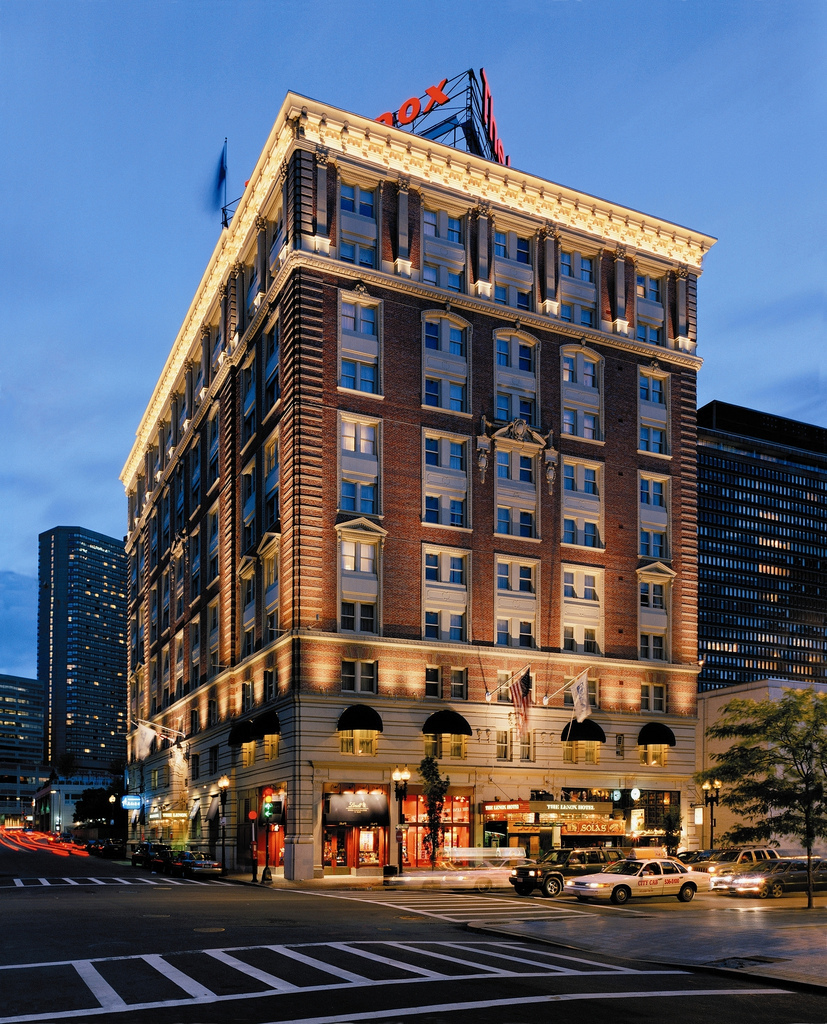 The Lenox Hotel, Hotels, Boston