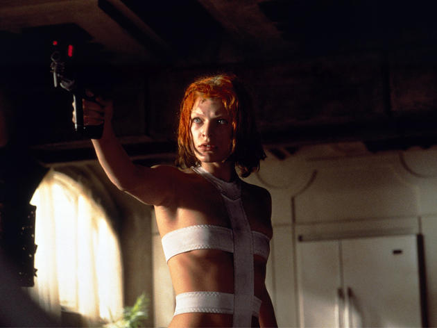 Sci-fi movie: The Fifth Element