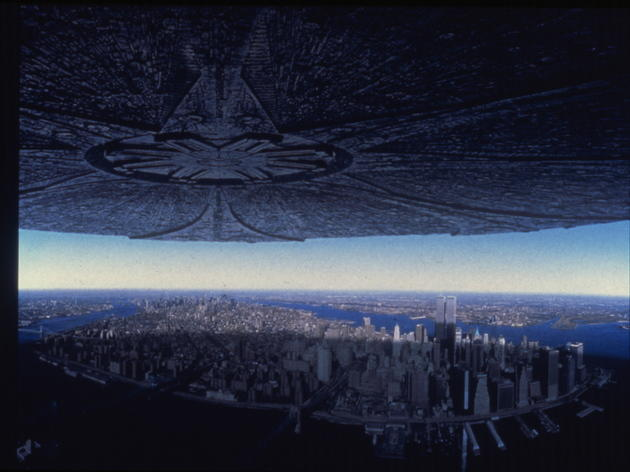 Sci-fi movie: Independence Day