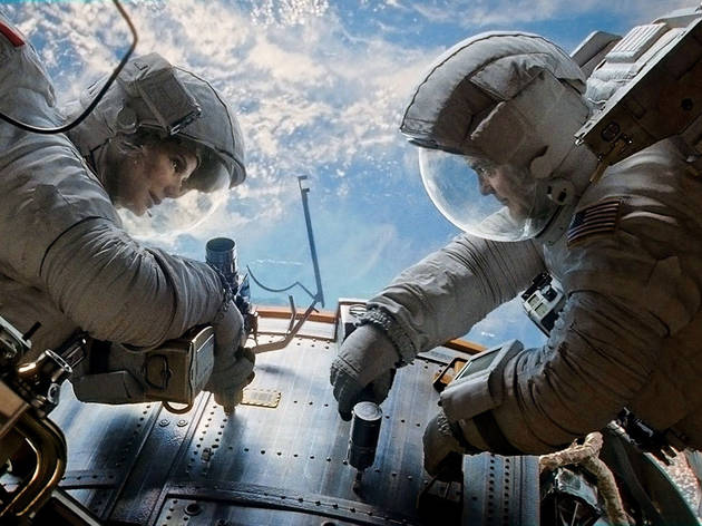 Outdoor cinema 2014: Gravity