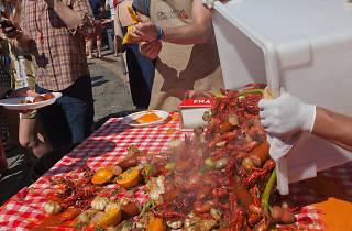 Crawfish for Cancer Crawfish Boil