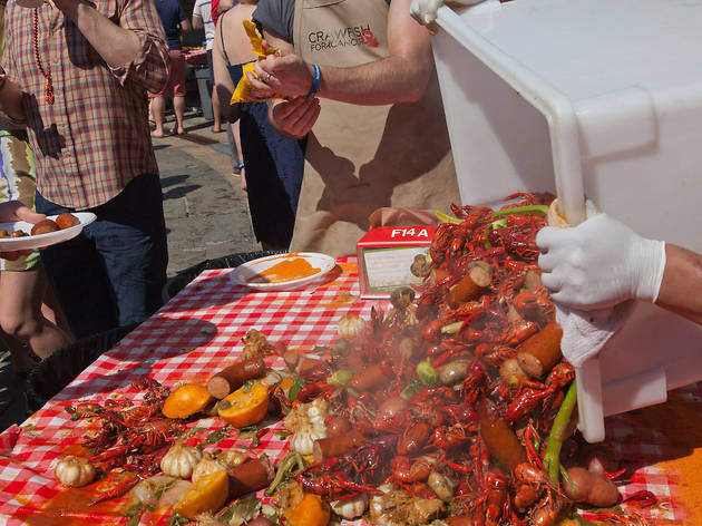 Crawfish for Cancer Crawfish Boil