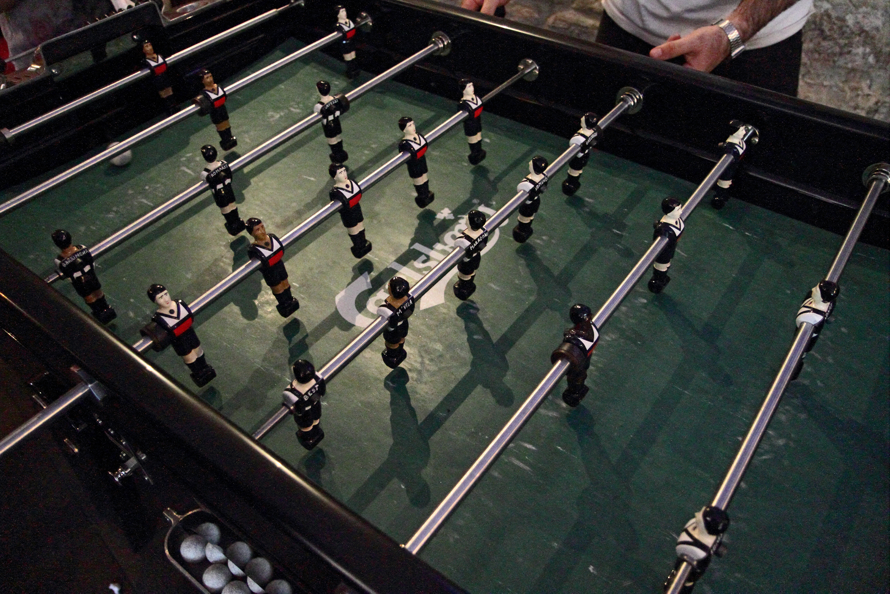 Table football bars