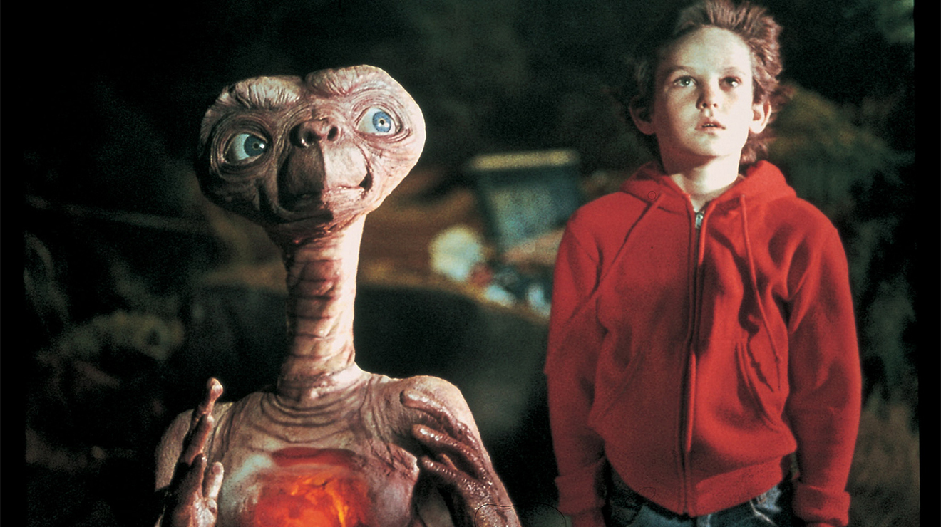 E.T. the Extra-Terrestrial 1982, directed by Steven Spielberg ...