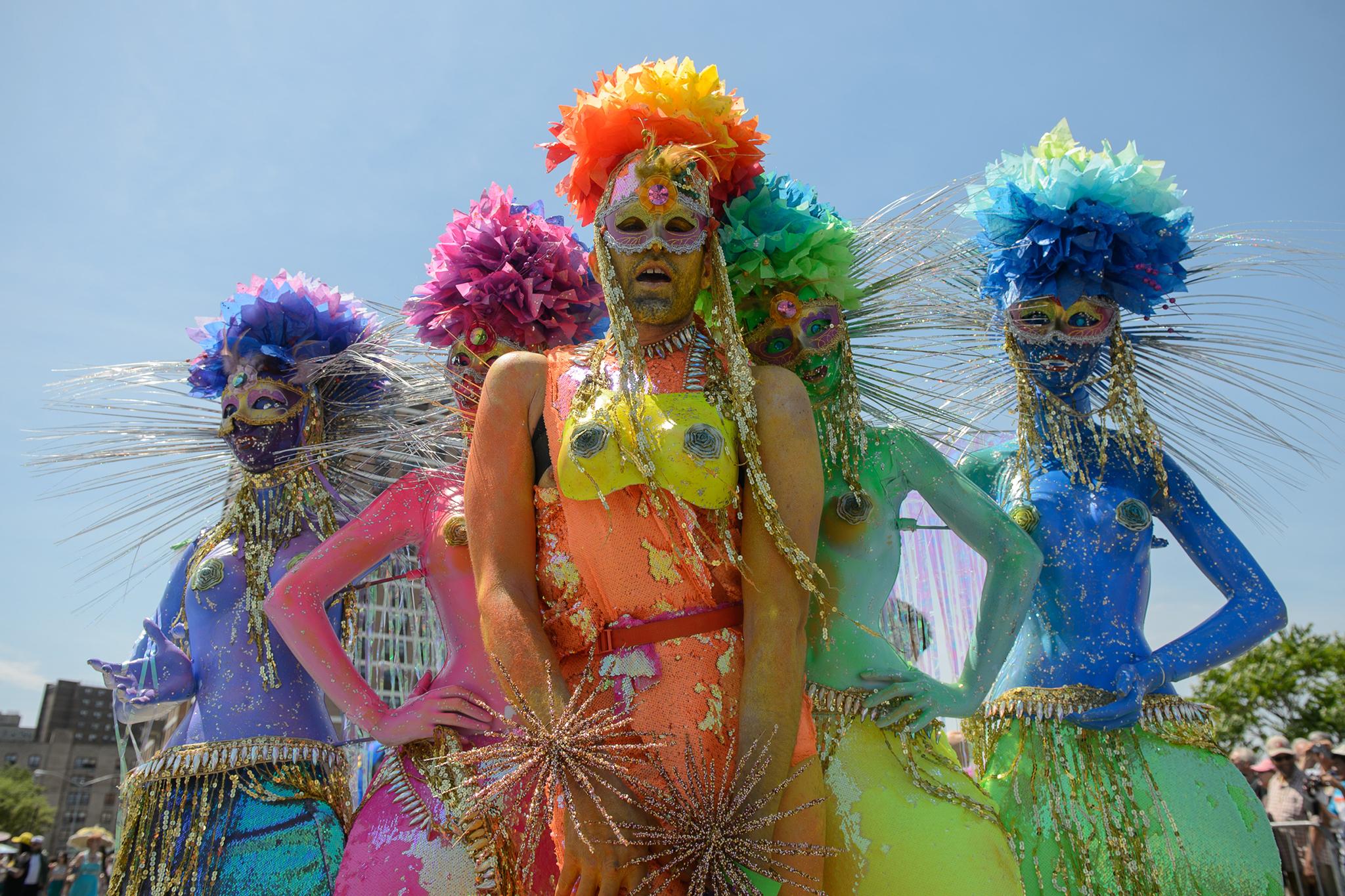 The Mermaid Parade hits Coney Island this Saturday (2015)