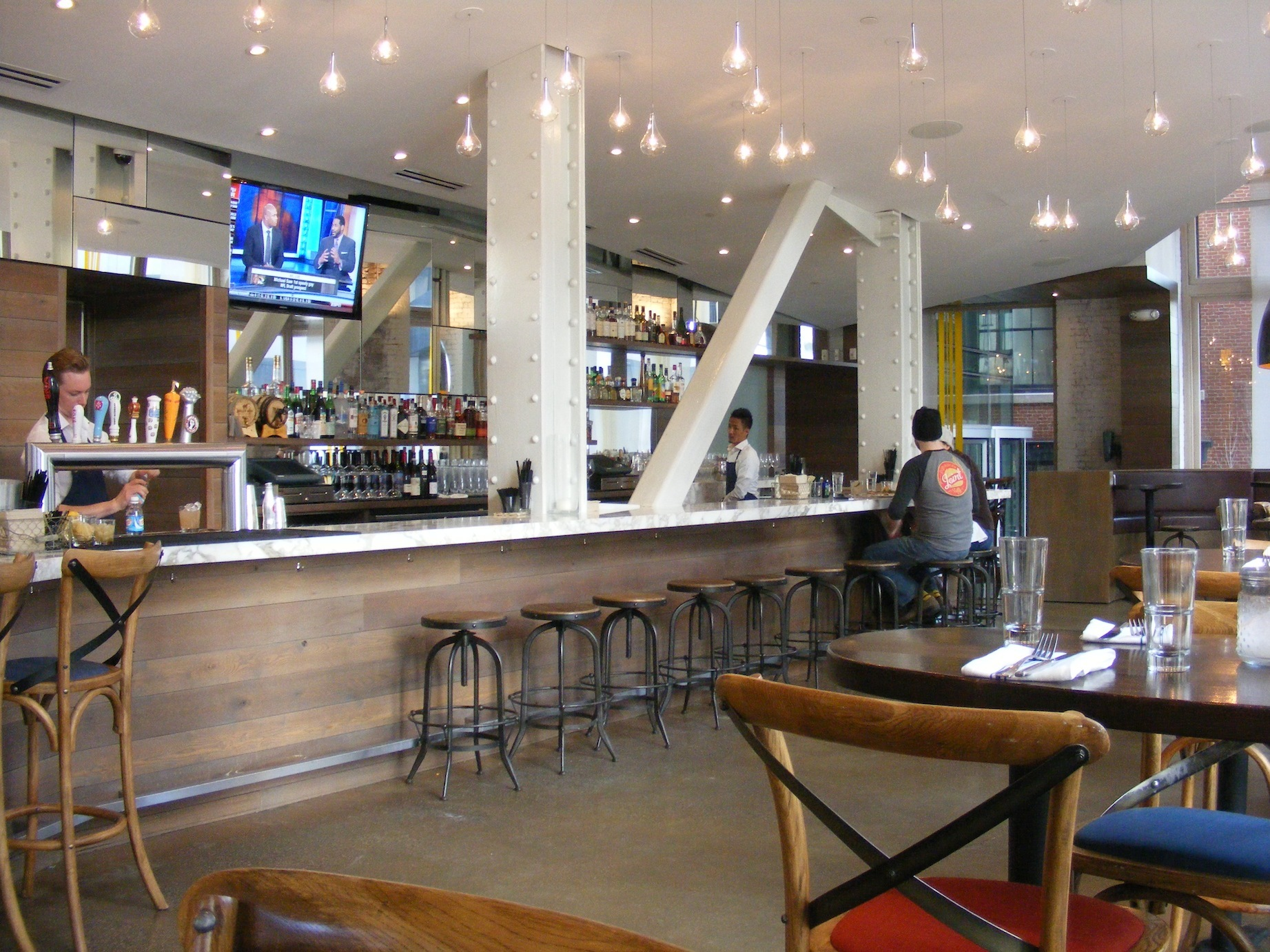 Trade, Restaurants, Boston