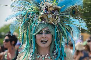 Mermaid Parade 2014, Coney Island