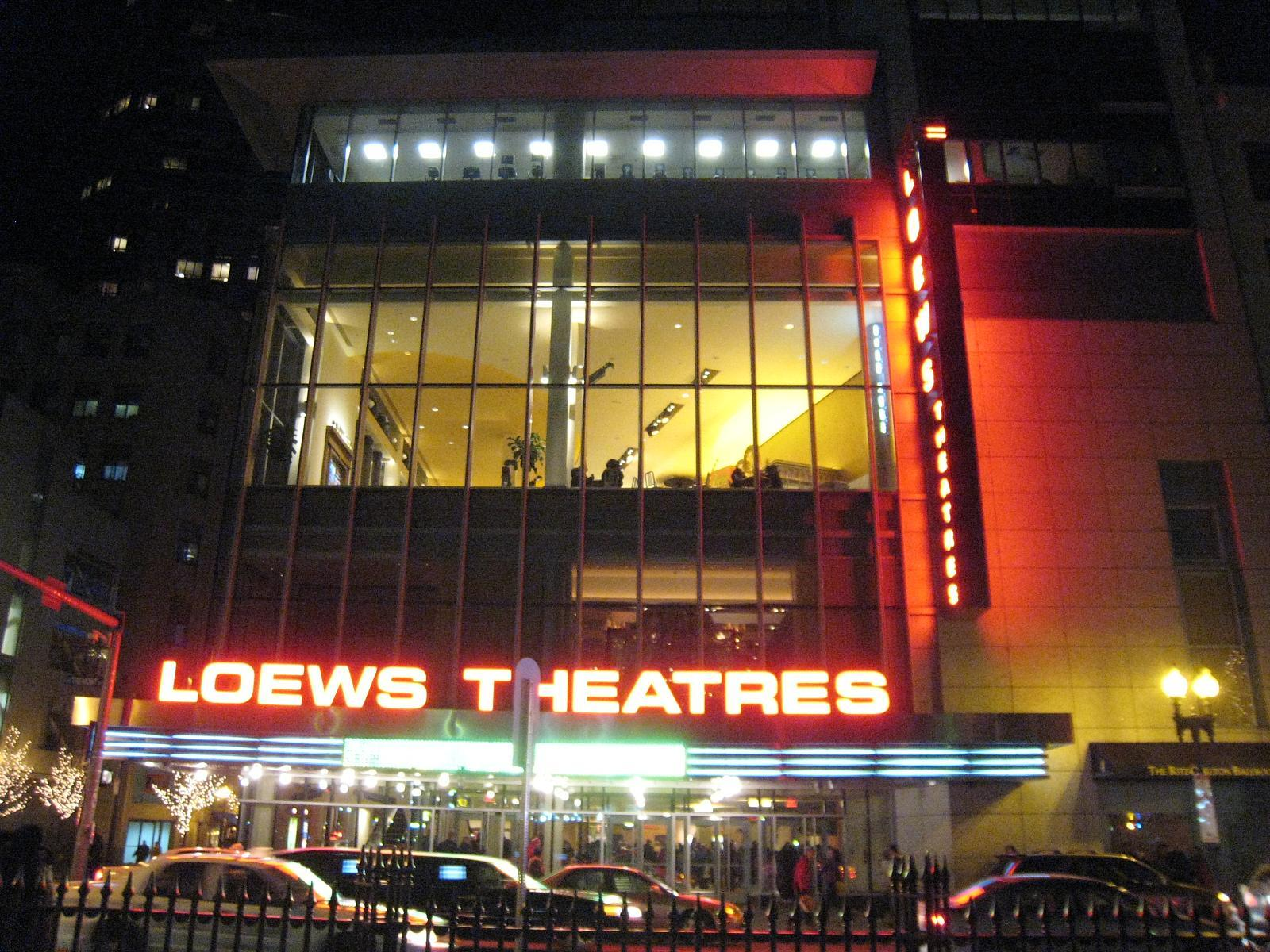 AMC Loews Boston Common 19, Movie theaters, Boston