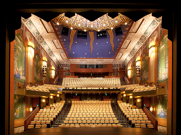 The Paramount Center, theaters, Boston