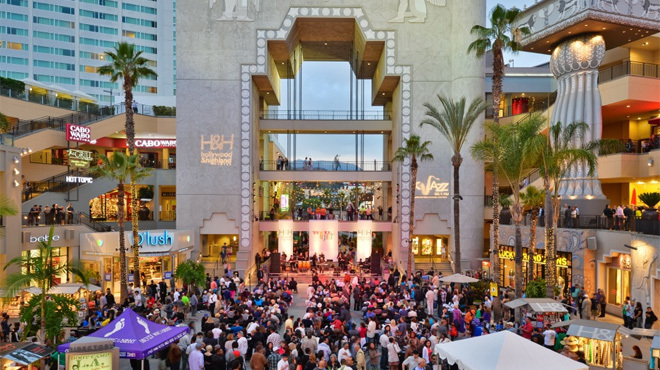 Wine & Jazz at Hollywood & Highland