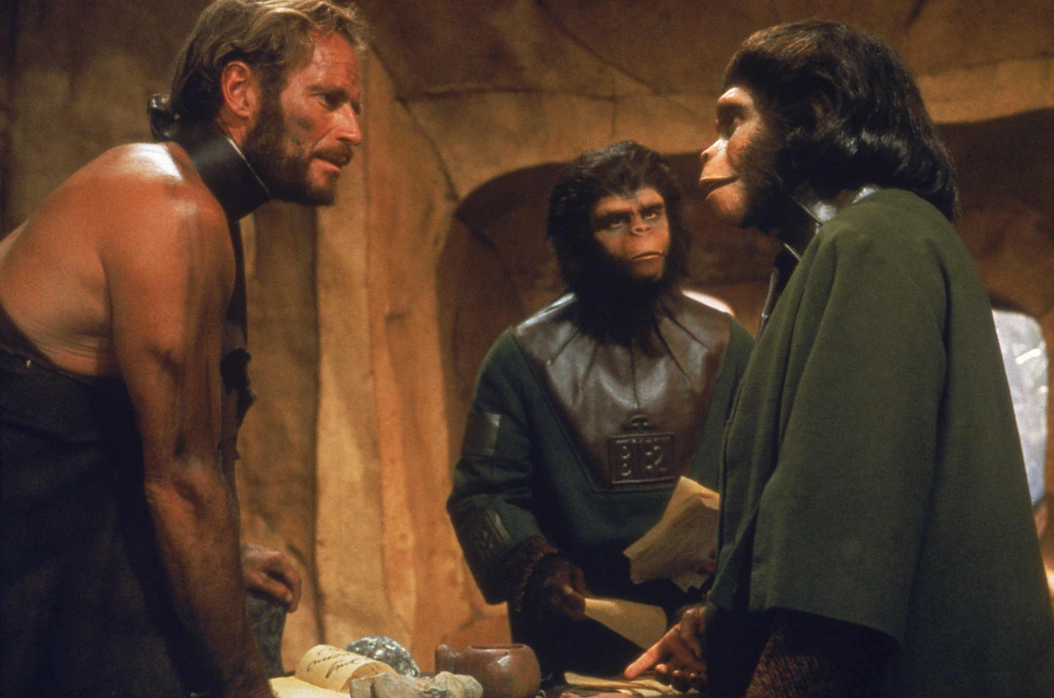Sci-fi movie: Planet of the Apes