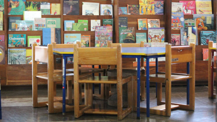 Sala infantil de la Biblioteca Vasconcelos