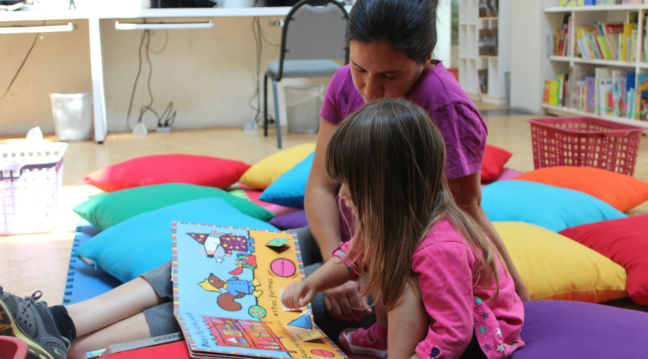 Bibliotecas y librerías para niños