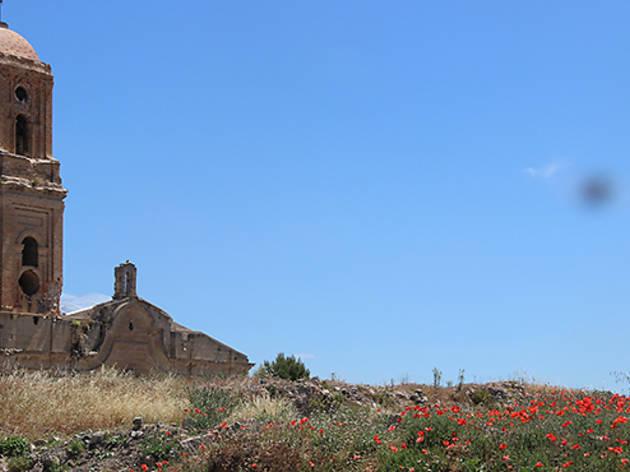 Poble Vell de Corbera d'Ebre, a la Terra Alta