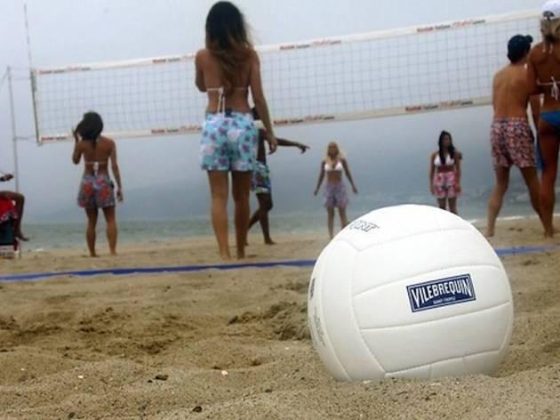 Vilebrequin Beach Volleyball Games