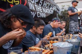 Dog Haus' Hot Dog Eating Contest & Craft Beer Fest