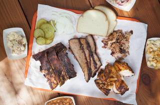 The Spare Ribs, Brisket & More (Photograph: Jakob N. Layman)