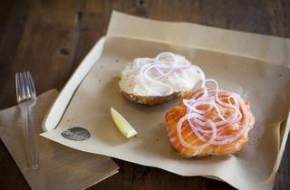 The Bagel with Lox (Photograph: Jakob N. Layman)