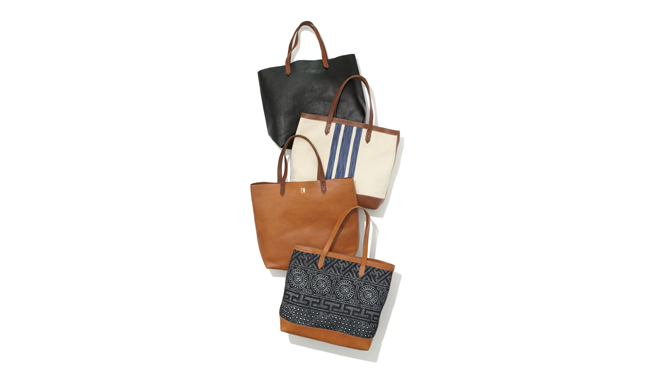 Madewell leather totes