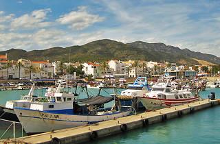 El port de les Cases d'Alcanar