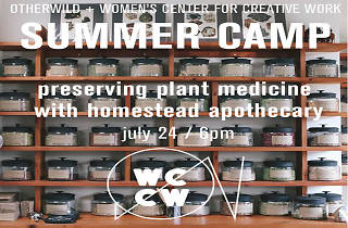 Preserving Plant Medicine Workshop
