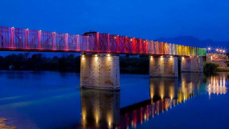 L'antic pont del ferrocarril a Tortosa