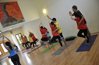Couples' Prenatal Yoga Workshop
