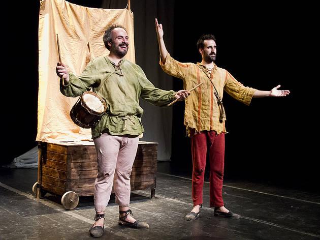 Festiu Fringe Barcelona 2014: Ñaque o de piojos y actores