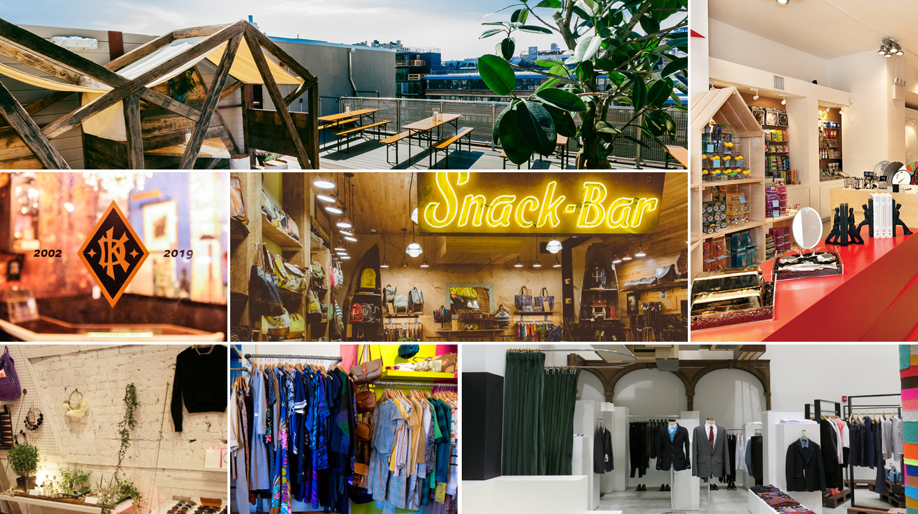 The best shops: London, New York, Stockholm, Barcelona and Dublin