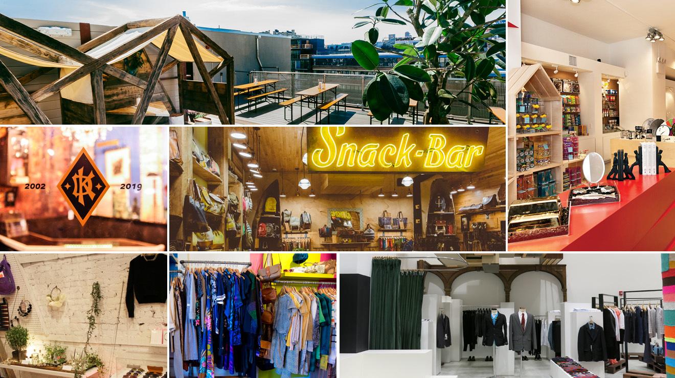 The best shops: London, New York, Stockholm, Barcelona and Dublin