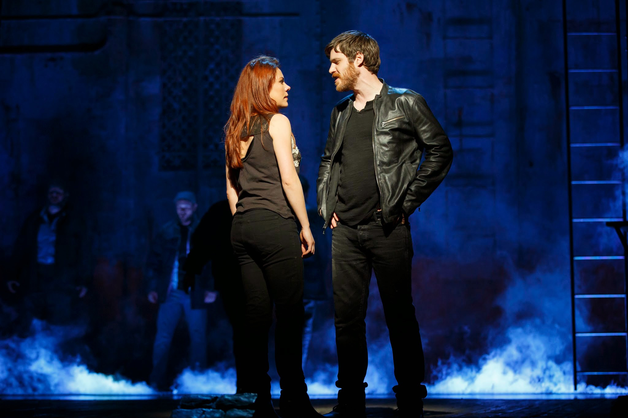 Rachel Tucker and Michael Esper in The Last Ship