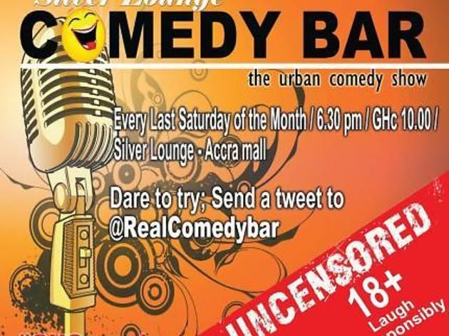 Comedy Bar Siver Lounge Accra, Ghana