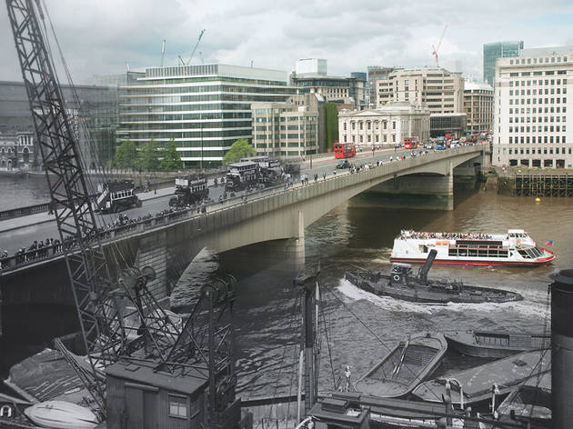 London Bridges Then And Now Old Pictures Of London Time Out London