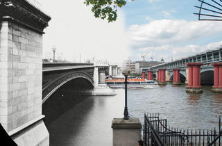 Blackfriars Bridge (© Museum of London)