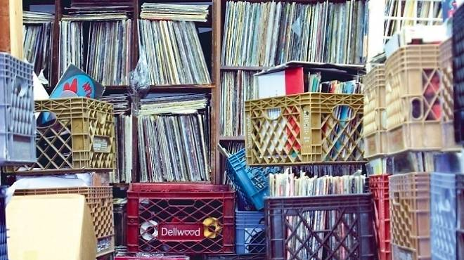 Old-school record stores