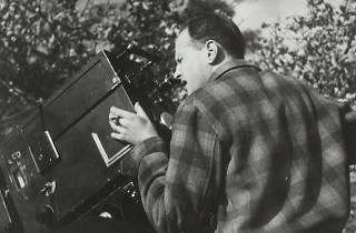 Bresson en el rodaje de la película 'La regla del juego'