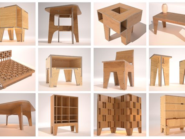 Muebles AtFAB CNC