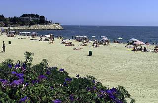 Playa de les Avellanes, en l'Ampolla