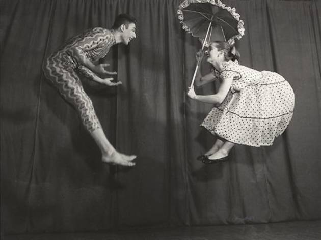 (Roman Vishniac, 'Les Danseurs Emily Frankel et Mark Ryder', New York, début des années 1950 / © Mara Vishniac Kohn / Courtesy International Center of Photography)