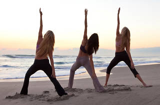 Complimentary Beach Yoga Series