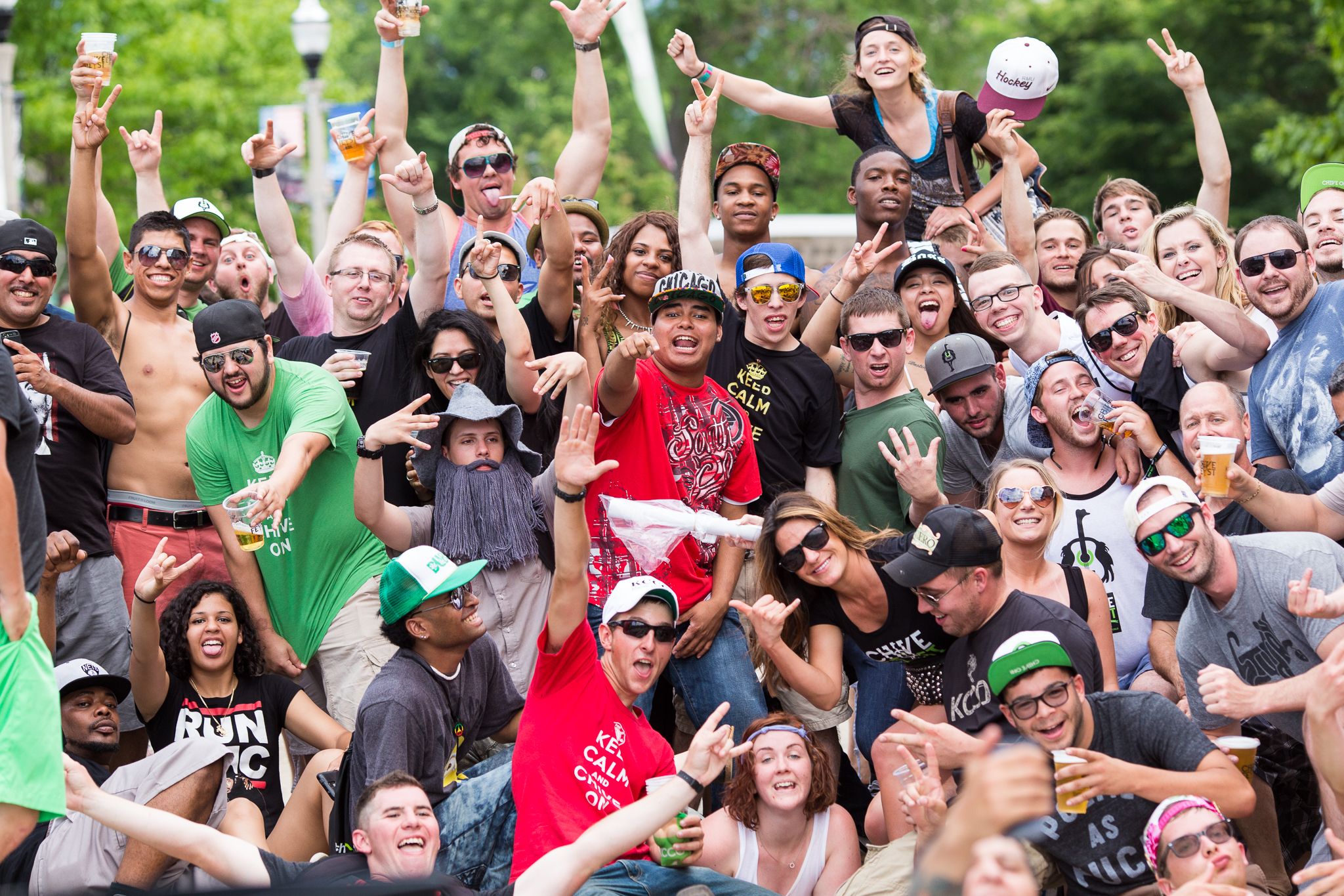 Chive Fest at Soldier Field