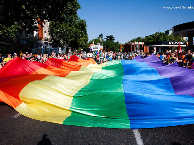 Gay Pride 2014: Pride & demonstration