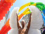 New Yorkers enjoy the Pride Parade on June 29th, 2014