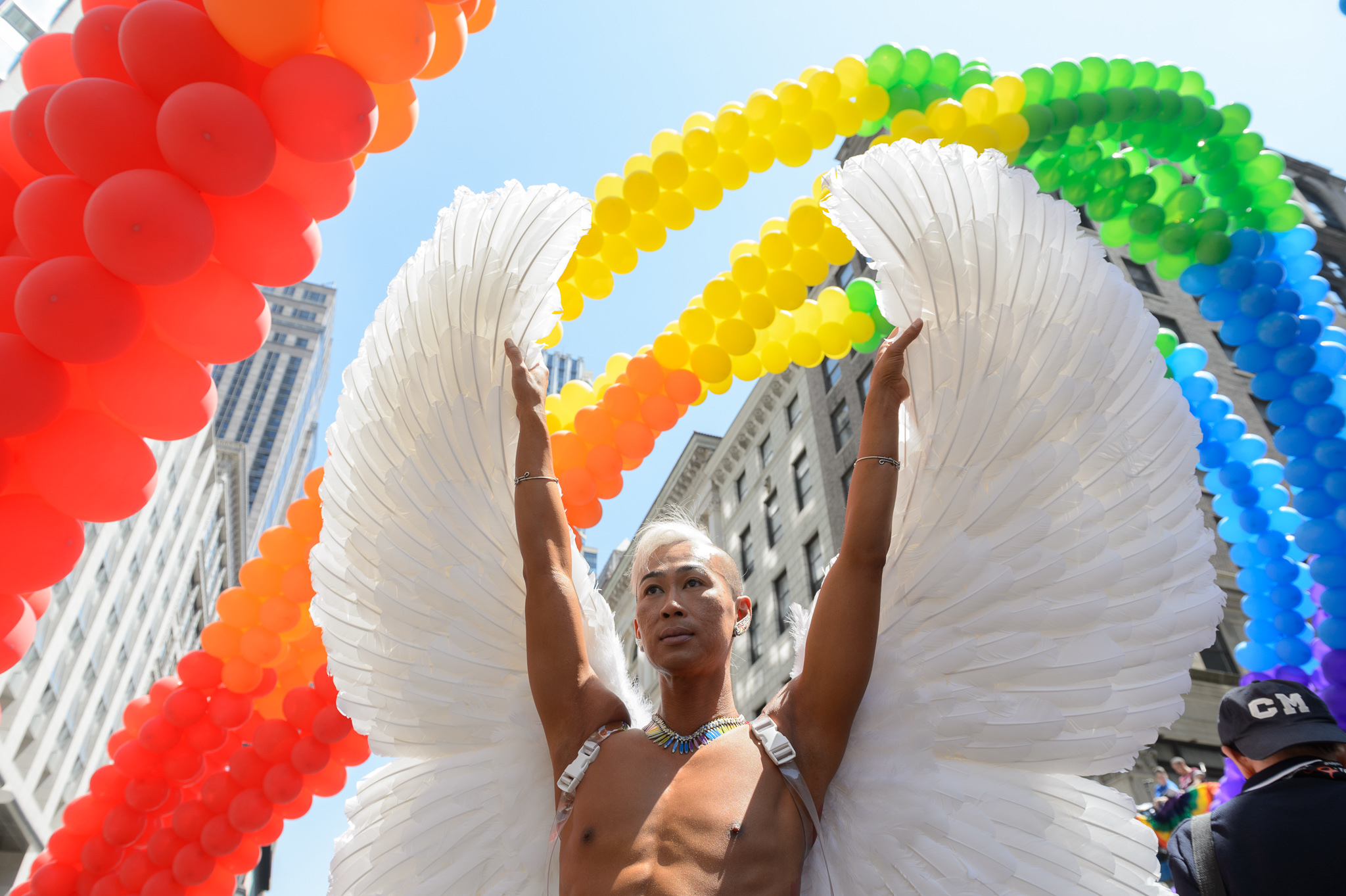 Photos of the 2014 NYC Pride March
