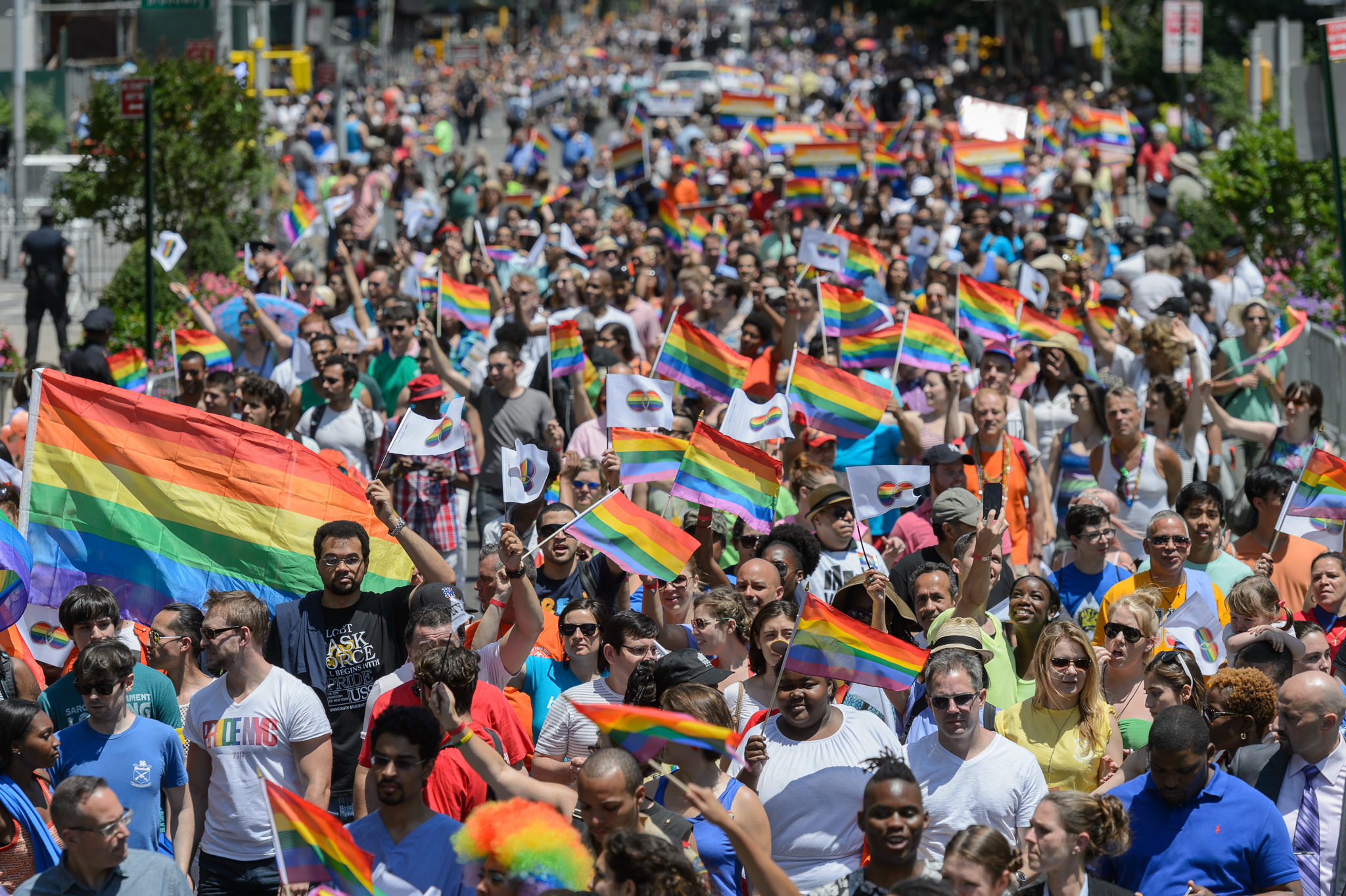 Gay Pride parade in NYC