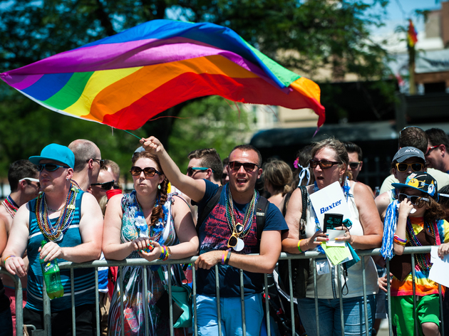 More than one million people lined the streets to cheer on participants at the Chicago Pride Parade.