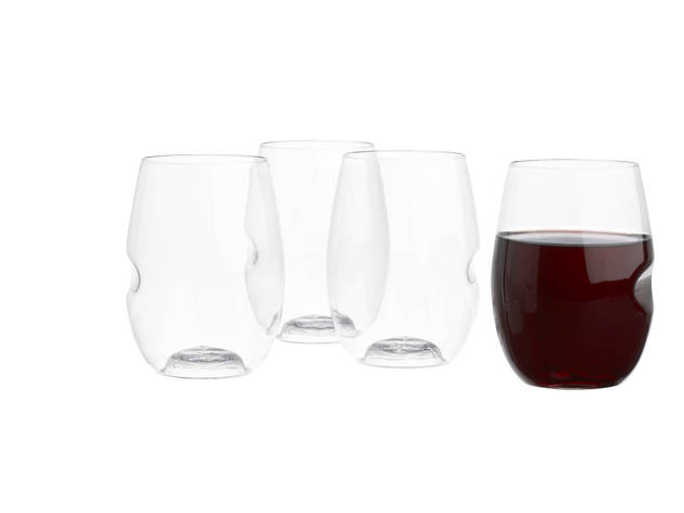 Govino stemless wine glasses (Photograph: Courtesy CB2)